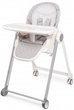 Стульчик-шезлонг Happy Baby Berny Basic New Light Grey