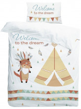 Комплект в кроватку AmaroBaby Exclusive Creative Collection Welcome To The Dream (3 предмета)